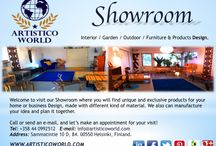 AW Art & Design News / Interior / Exterior / Garden / Outdoor / Decoration / Furniture & Product Design.  contact us! info@artisticoworld.com www.artisticoworld.com