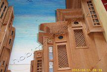 Ahşap Rolyef Yapımı-Wooden construction rolyef