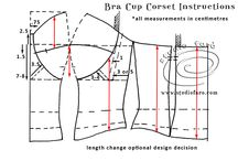 pattern making lingerie