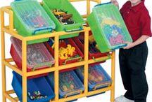 Classroom Storage Solutions & Decor