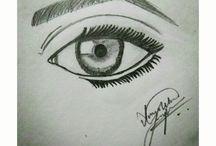 Pencil Drawings (Shading)