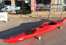 Expedition / This sit-in recreational kayak is designed with enough length to track well and move through the water with efficiency, but enough width to provide paddlers with a stable, comfortable ride. Kayak-ity-yak has a variety of colours to choose from....check us out!
