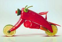 Food Motorcycles / Food Motorcycles