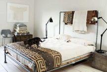 bedroom - minimal / industrial / bohemian