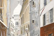 peinture UTRILLO