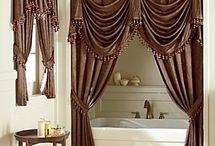 Curtains bathroom ideas
