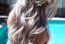decorated hair