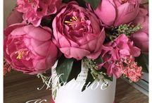 Ручная работа / Композиции из цветов, кофе, конфет