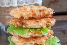 Burgers / Shrimp