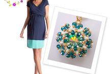 Ciondoli e Collane tessitura di perline