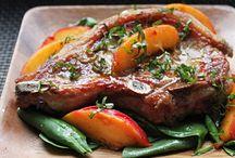 Recetas - Carne de Cerdo / Chuletas, Costillitas, Lomo Relleno, etc