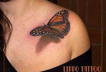 3D tattoo's