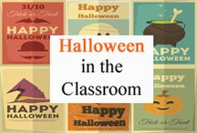 Halloween Classroom / Halloween ideas for your classroom. / by Tree Top Secret Education