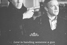 My Mind Palace / Sherlock Holmes and John Watson and all about 221B.