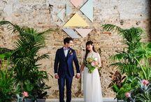 Pastel wedding inspiration