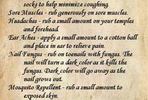 Heath tips for sickness / by Amanda Runyon