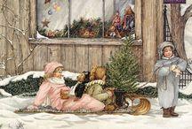 """Magie de Noël / """" Noël, c'est la veille, c'est l'attente."""" Georges Dor"""