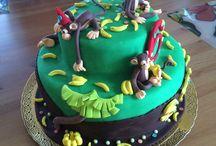 Sugarcraft Birthday Cake / Birthday Cake