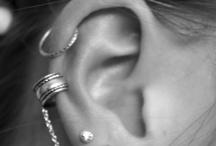 ❤ Piercings d'oreilles ❤