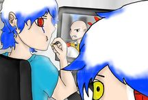 My Drawings / My drawings that I posts on others sites like DeviantArt