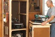 Woodworking Shop Build / by Cindy Hayes