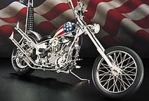 God Bless America: the Red, White & Blue / Motorcycles, tank designs and other patriotic, American stuff