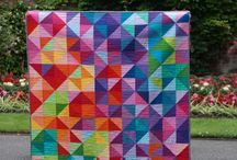 Rainbow quilts / by Kc Shortes