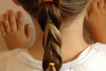 lány frizura