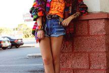 ボヘミアンファッション