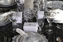 Glamorous Table Settings / Find out the most glamorous and elegant table settings to get a luxury dining room full of style and fancy details. http://roomdecorideas.eu/category/home-ideas/dining-rooms/