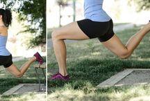 Sport übungen / Übungen gegen Cellulite