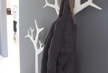 Askılıklar ağaç şeklinde