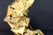 Karton abstract