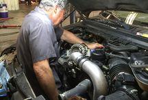 F350 Diesel Auto Repair and Service, Pensacola, FL / Bobby Likis Car Clinic / PreRepair® Service Shop has expert Diesel Automotive Service & Repair || 850-477-9480 || www.CarClinicService.com