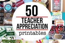 Teacher appreciation gift ideas / by Melissa Silvestre