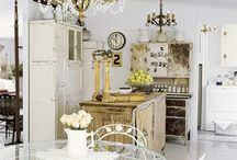 Kitchens  / Kitchen Inspiration / by Ticking and Toile