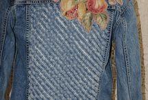 джинсы декор