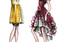fasion sketches