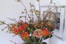 Mine blomster kreationer og andre dekorationer