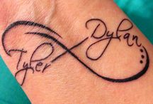 Tetování / My next tattoo inspiration...I look for an inspiration for my baby name and birthday tattoo.