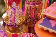 Decoração festa D Fatima