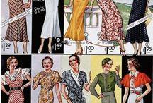Мода 30х гг