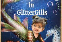 Glitter Gills Personalized Book from flattenme