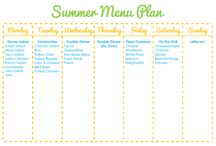 Meal Planning Ideas / Meal planning ideas and printables for the busy parent.