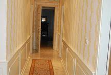 Boiserie moldings / Boiserie e pannelli su misura Boiserie and customized wall covering