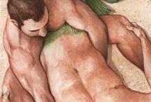 desnudos masculinos mitológicos