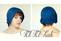 Hats...Felt / Hats formed from felt