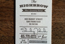 Business cards / The good ones