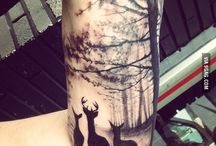 tattoo forest