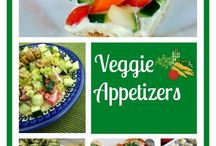 Appetizer&Party food / Easy & low cal appetizers& party food